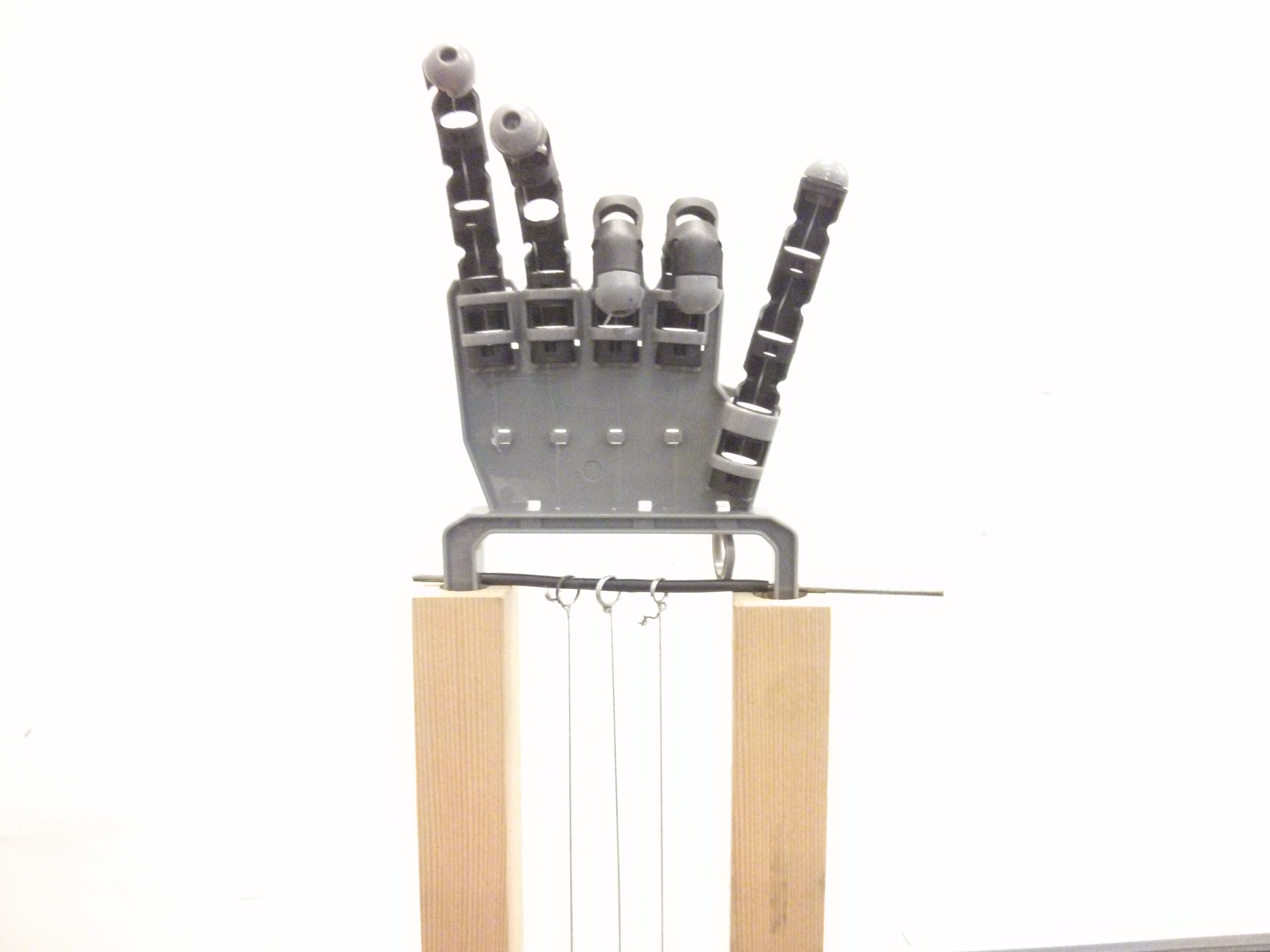 Nylon-Actuated Hand - Prototype 2